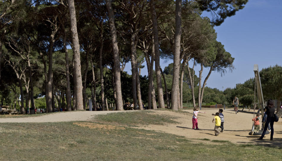 El Parc del Pinaret en una imatge d'arxiu.