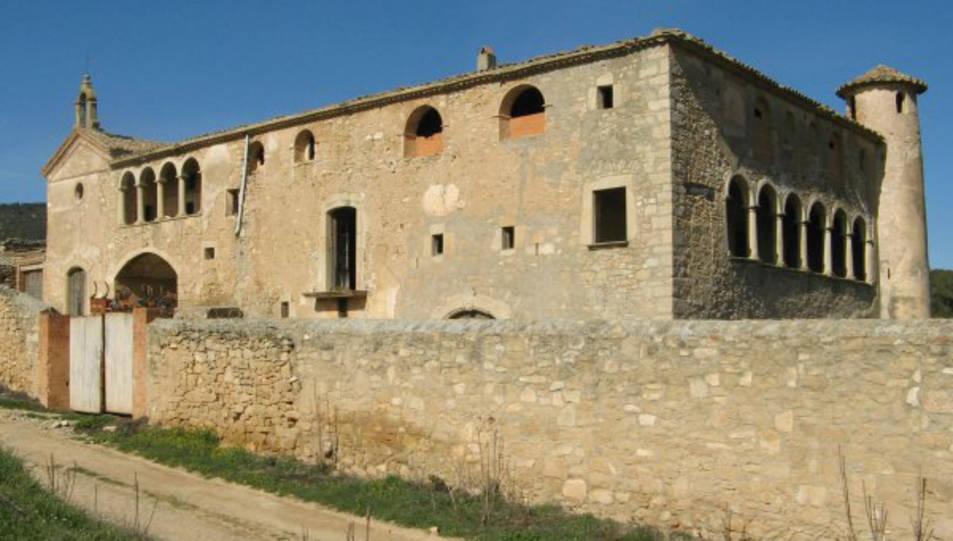 Imatge d'arxiu del Mas d'en Xup.
