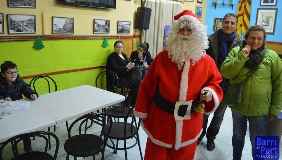 El Pare Noel ha estat el protagonista de la festa.