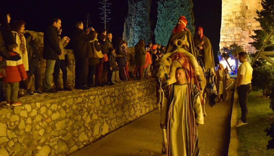 L'arribada dels savis de l'orient és un dels moments que més agrada als assistents.
