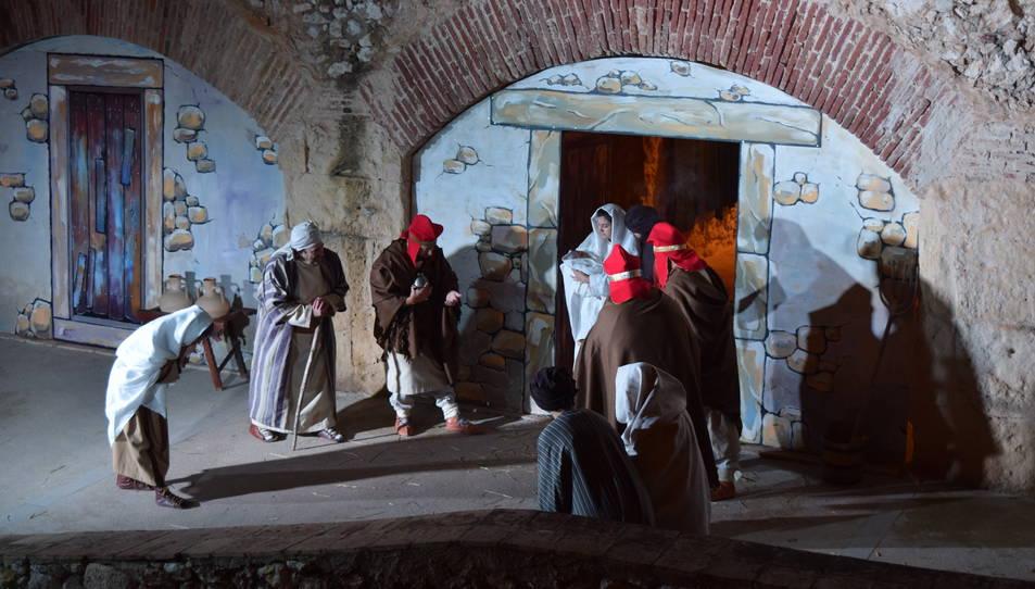 El naixement s'ha recreat a partir de les narracions bíbliques i els registres arqueològics.