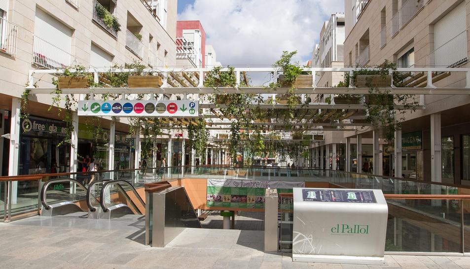 Imatge d'arxiu del Passeig Comercial del Pallol, on podria ubicar-se la firma holandesa.