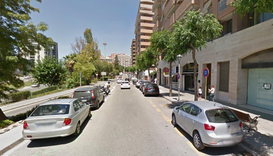 La dona va ser enxampada al carrer Vidal i Barraquer.