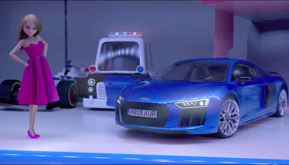 Imatge del curt de la campanya d'Audi