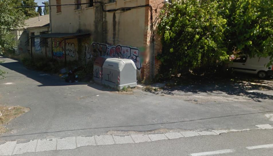 El contenidor que ha cremat estava situat a la carretera de Picamoixons.