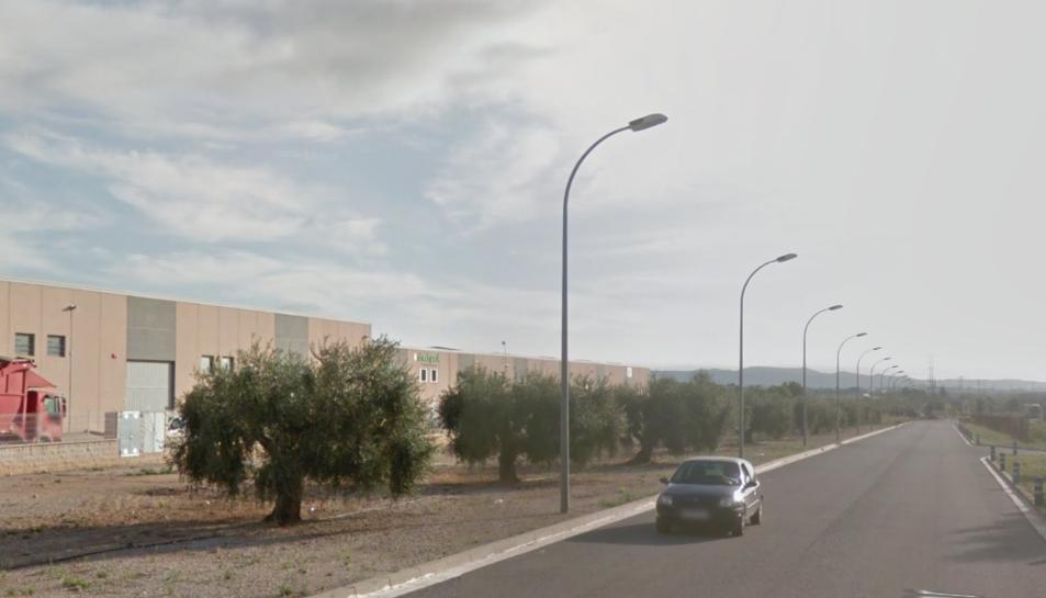 L'accident s'ha produït al polígon industrial d'Albornar.
