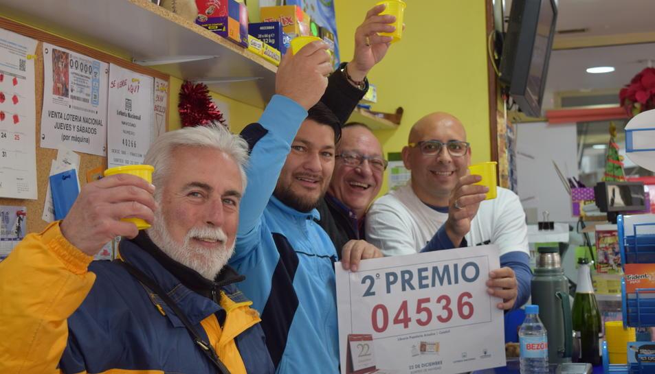 La suerte llega a Tarragona en forma de segundo, cuarto y quinto premio