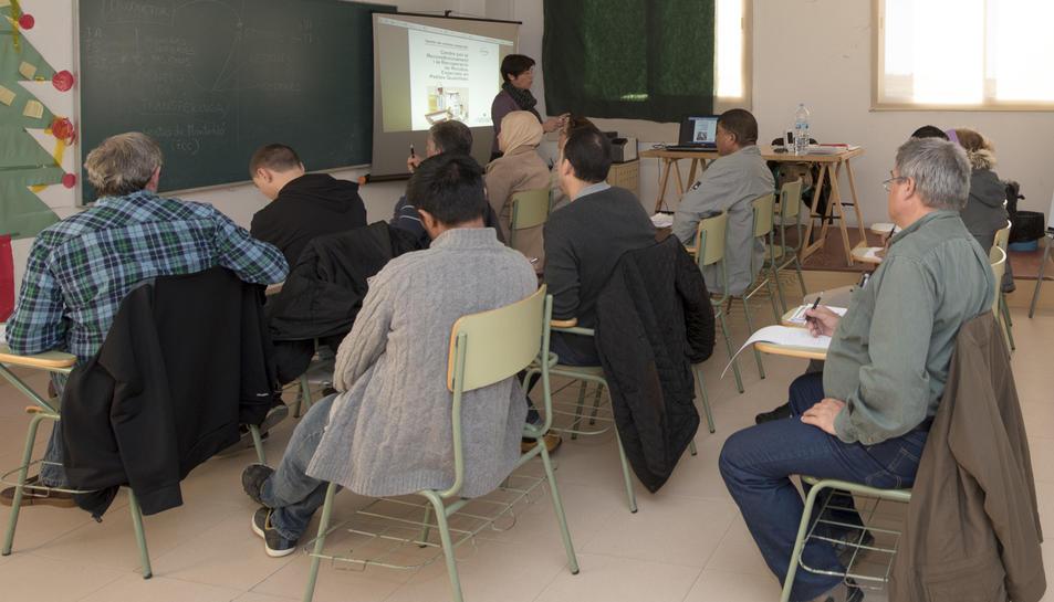 Els cursos de formació aniran adreçats principalment a les persones que estan a l'atur.