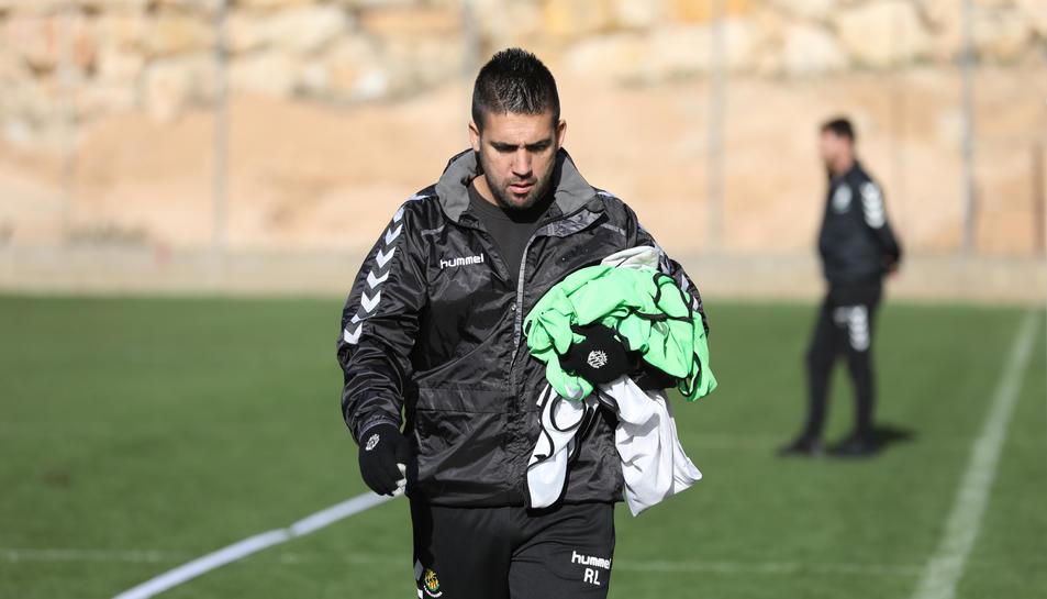 López va entrar al cos tècnic amb l'arribada de Vicente Moreno.