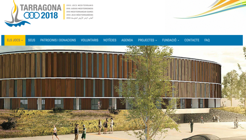 El nou portal web ha passat a ser www.tarragona2018.cat