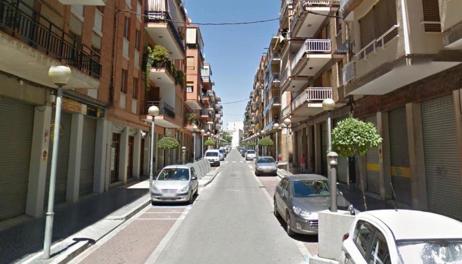 Els fets van tenir lloc al carrer Abat Llort de Valls.