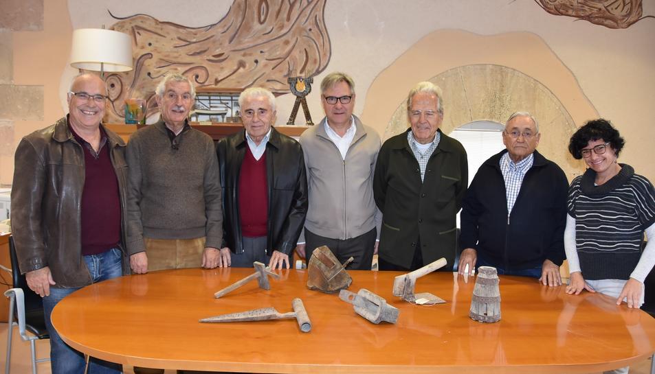 Les eines es conversaran i s'exposaran al municipi.