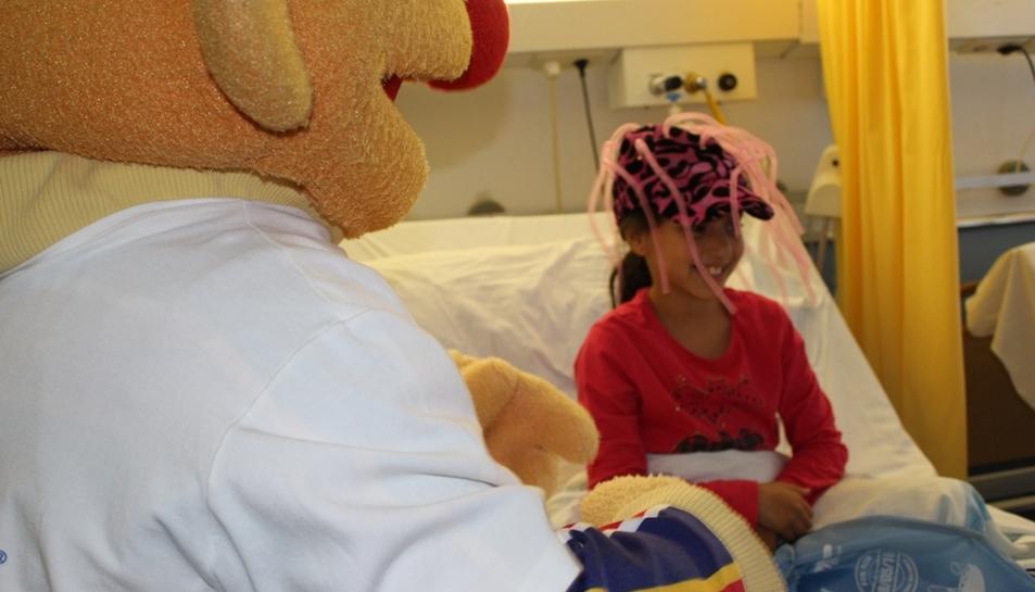 Epi i Blas, a la planta pediatria del Joan XXIII