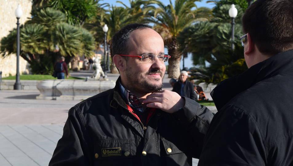 Fernández, al balcó del Mediterrani de Tarragona.