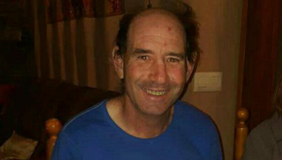 Ramon Garcia, de 53 anys, va desaparèixer el passat dissabte al matí a la Pobla de Montornès.