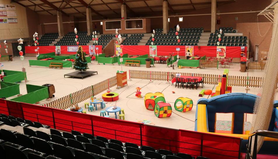 El Parc de Nadal de Cambrils acollirà ludoteca, entre d'altres.