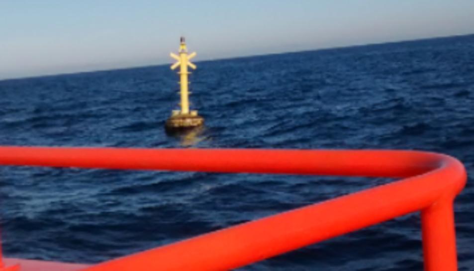 L'objecte recuperat del mar.