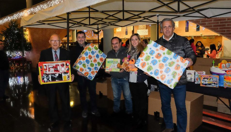 L'esdeveniment també va tenir la seva vessant solidària col·laborant amb la campanya '