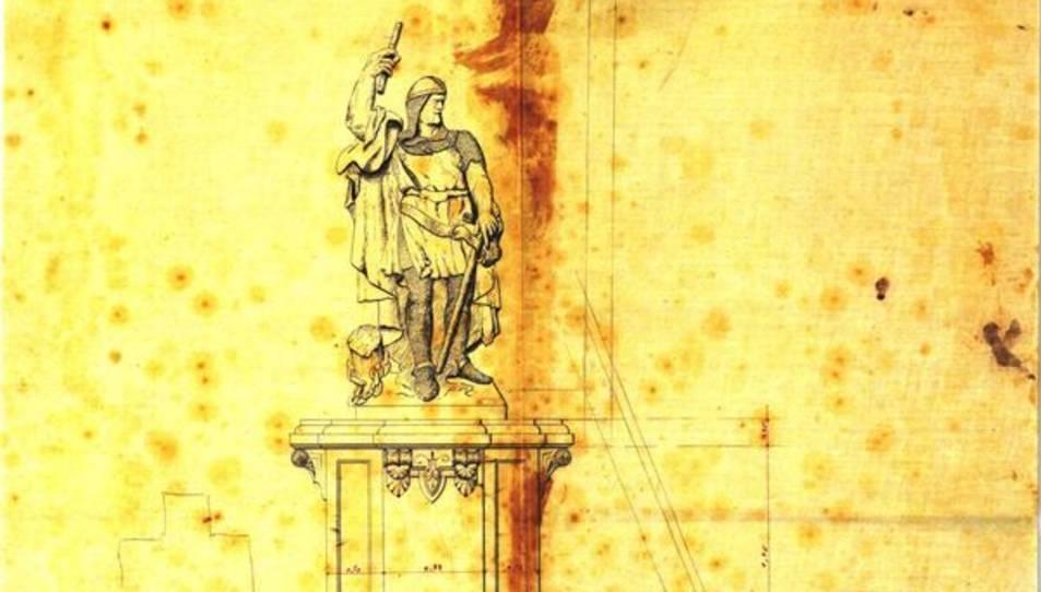 El monument a Roger de Llúria.