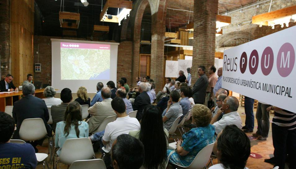 Una imatge d'arxiu del procés participatiu del POUM.