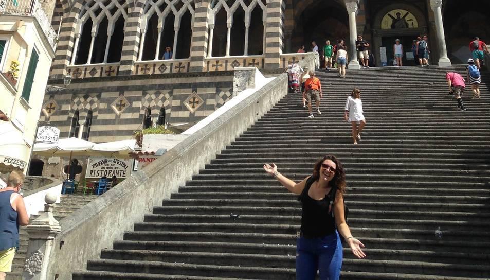 Esther Duch vol tornar a Tarragona per començar les pràctiques.