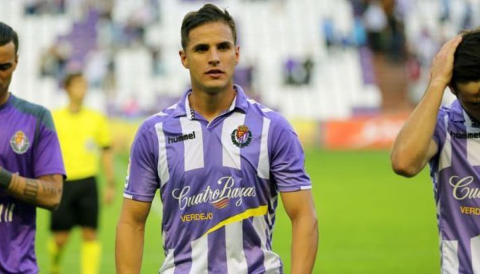Luismi, jugador del Real Valladolid, està a punt de tancar la seva cessió pel Nàstic.