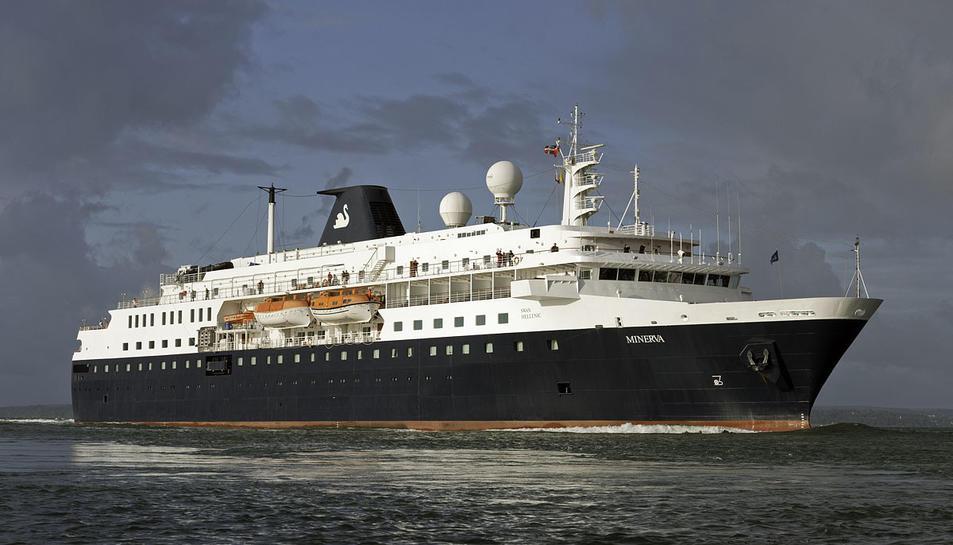 Imatge d'arxiu de l'MV Minerva.