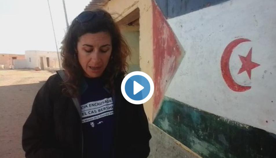 Laia Estrada ha fet la primera valoració des del Sàhara.