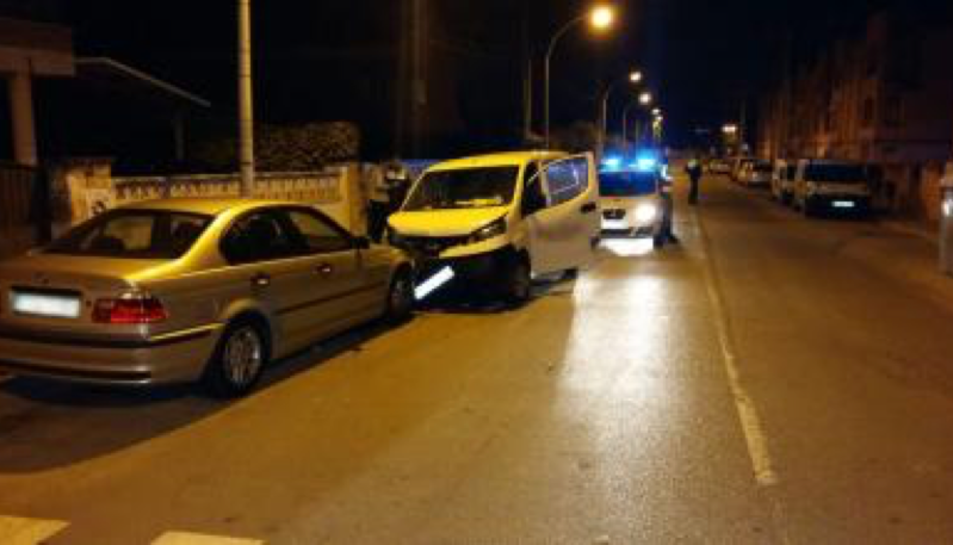 L'accident va tenir lloc a l'avinguda