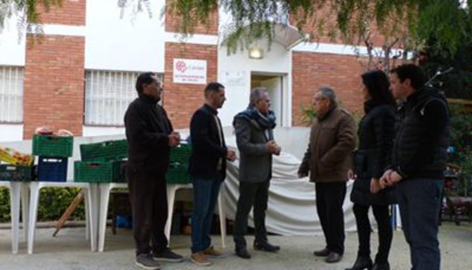 L'alcalde de Salou, Pere Granados, i la