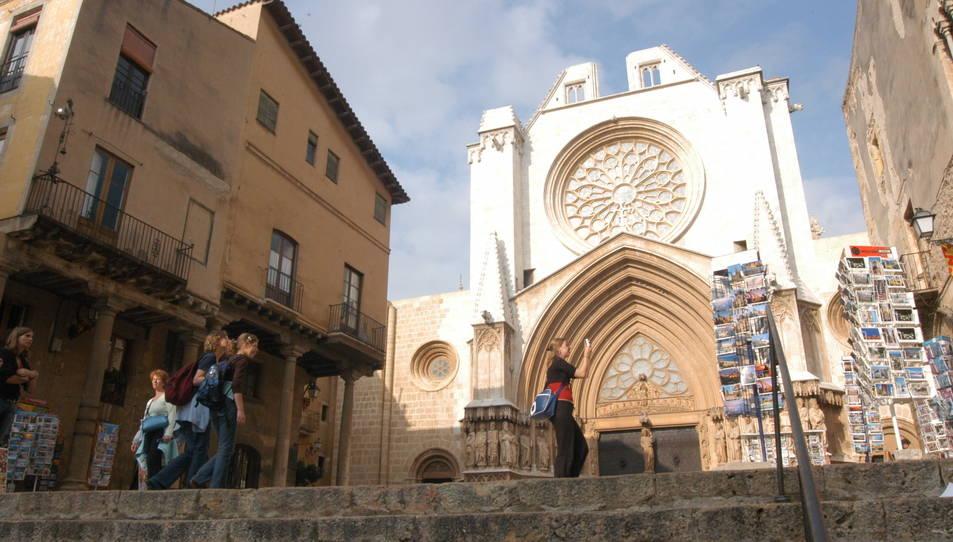 Imatge d'arxiu de la Catedral de Tarragona.