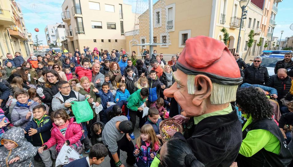 L'Home dels Nassos ha visitat recentment el municipi.