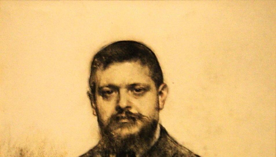 Retrat de Jaume Carner i Romeu realitzat per Ramon Casas.