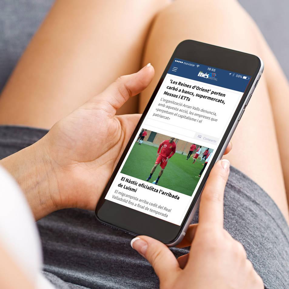 L'aplicació està disponible per a Android i per a iOS