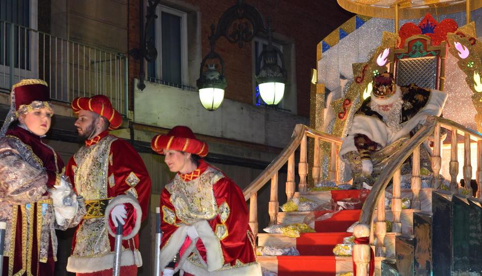 Cavalcada de Reis Mags a Tarragona.