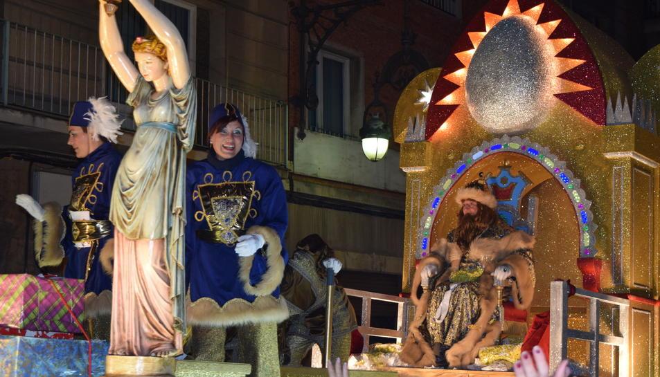 Cabalgata de los Reyes Magos en Tarragona