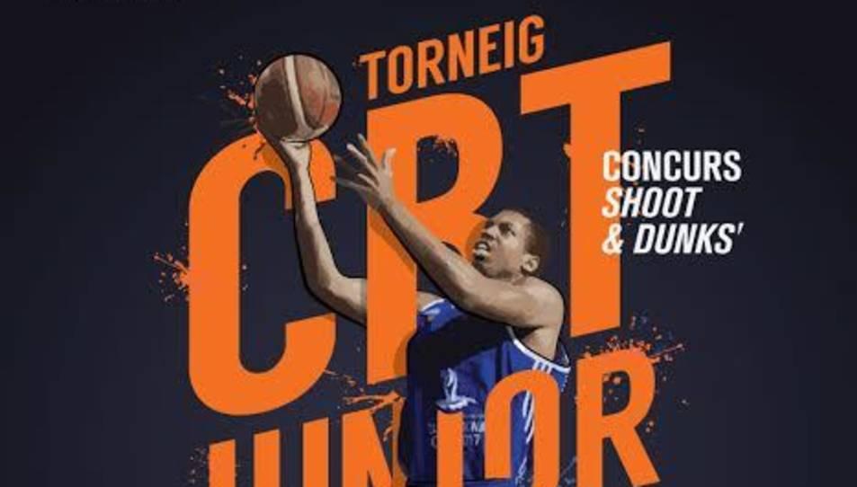 Imatge del cartell promocional de la CBT Junior Cup.