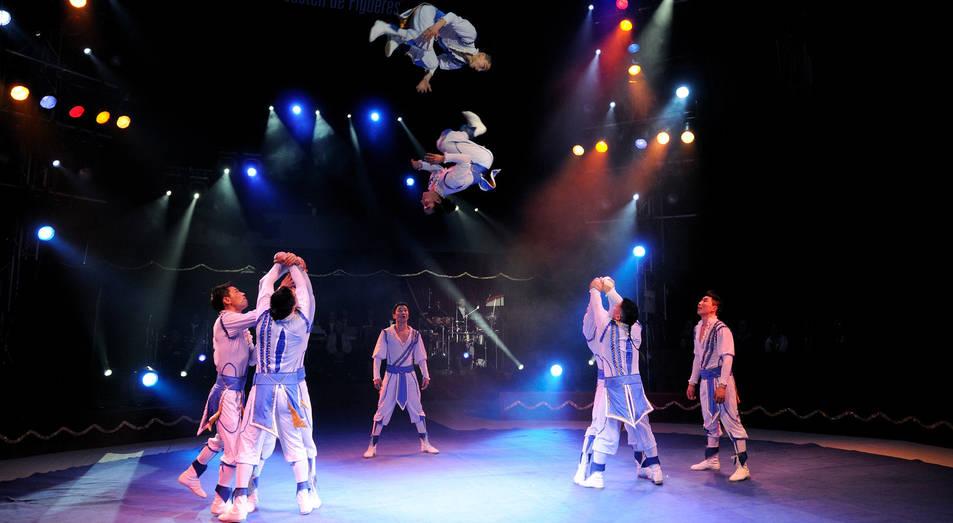 Imatge d'una de les actuacions a la TAP.