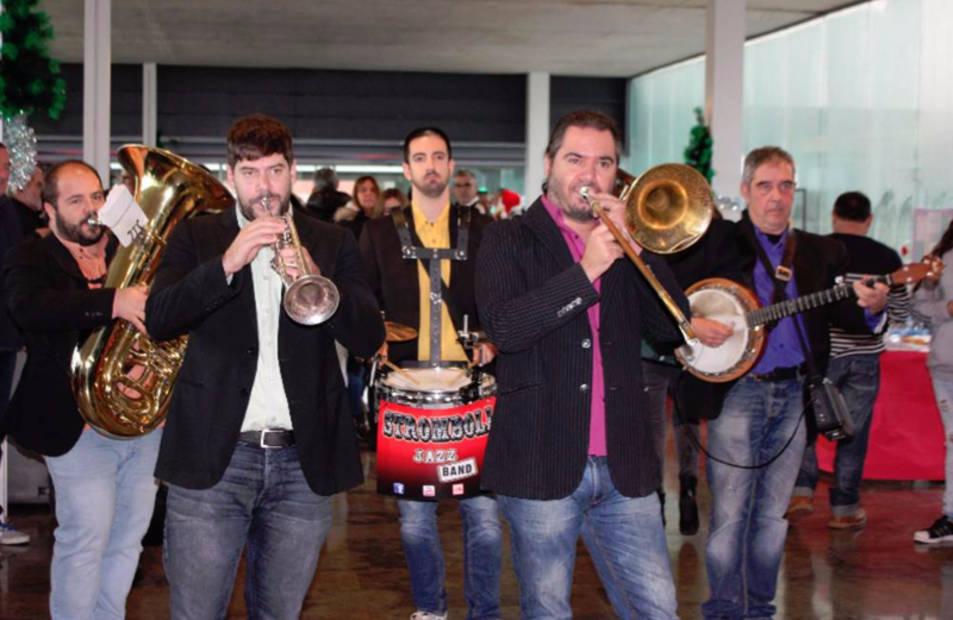 Stromboli jazz band prepara el segon disc