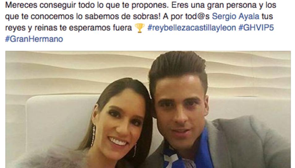 La publicació que Nerea Arroyo ha publicat a la seva pàgina de Facebook.