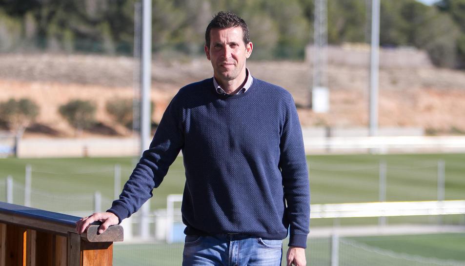 Juan Merino, entrenador del Nàstic.