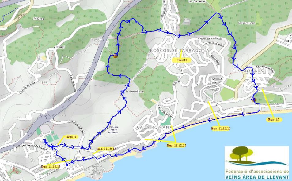 La Caminada, de més de 10 quilòmetres, es durà a terme el pròxim diumenge.