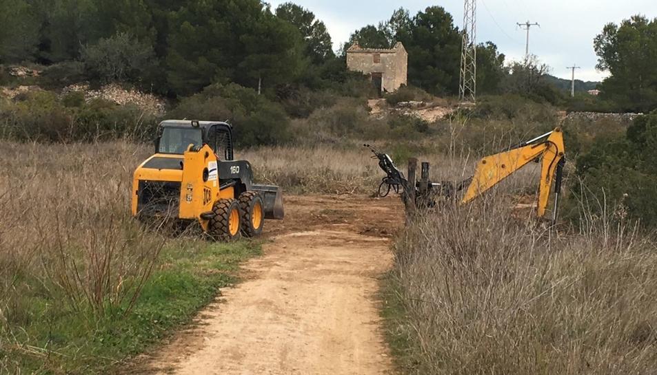 Intervenció arqueològica en l'entorn del Camí de la Budellera i l'espai afectat pel Pla Parcial