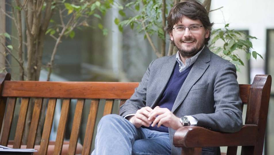 Javier Villamayor és regidor de l'Ajuntament i coordinador de l'esdeveniment esportiu.