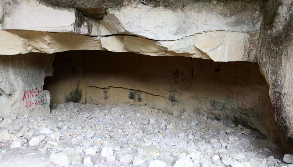La pedrera romana de las Cuevas del Llorito