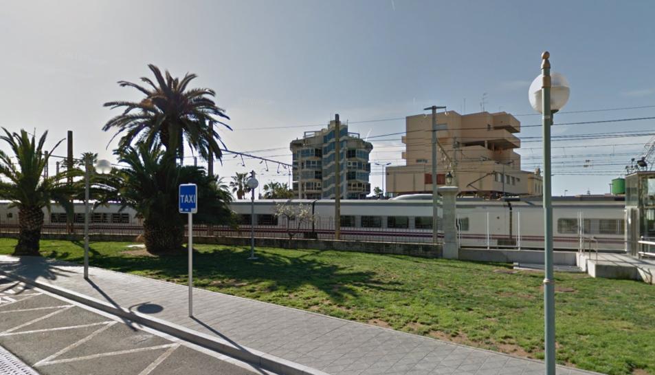 L'atropellament s'ha produït a les vies del tren a l'alçada de la plaça dels Carros.