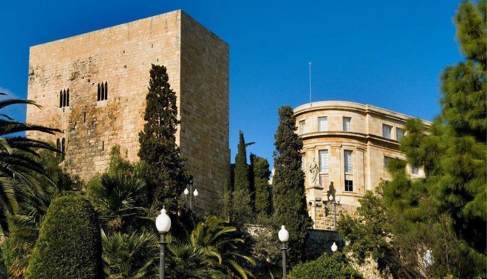 El Pretori i el Museu Nacional d'Arqueologia de Tarragona.