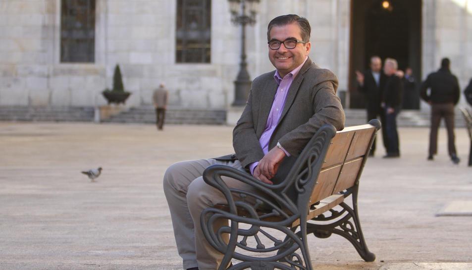 José Luis Martín ha explicat a 'Diari Més' que li faria il·lusió presentar-se com alcaldable el 2019.