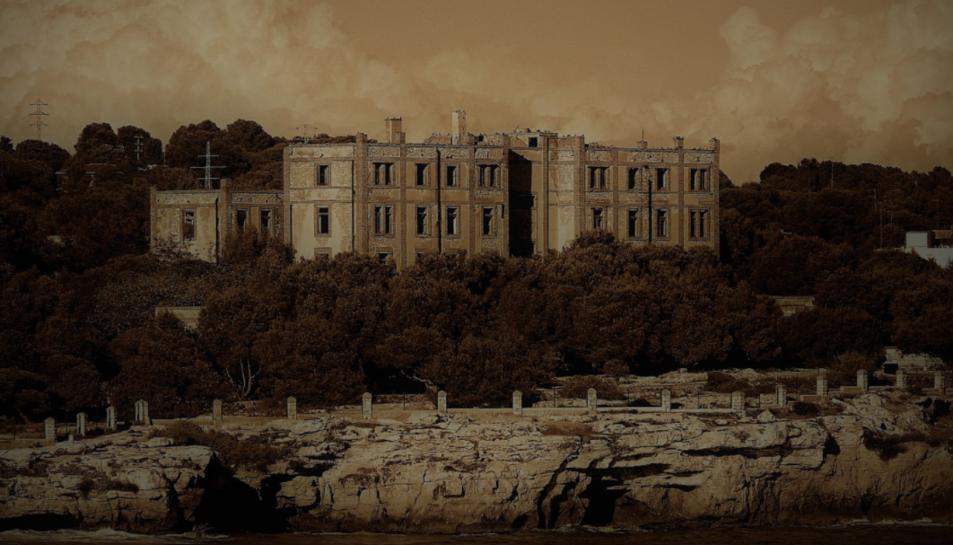 El preventori de la Savinos està abandonat des del 1976.