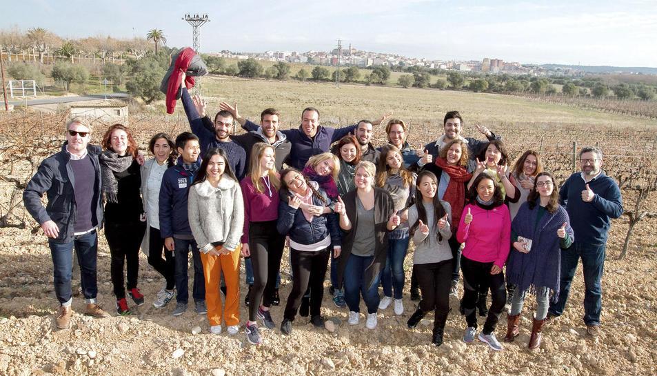 El futur és a les vinyes: màster Erasmus Mundus en Innovació en Enoturisme, coordinat per la URV.